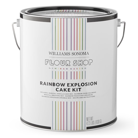 Flour Shop Rainbow Explosion Cake Kit