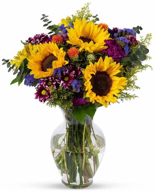 Fresh Sunflower Bouquet