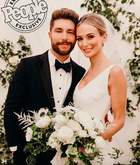 Lauren Bushnell Marries Chris Lane: 5 Sleek, Modern Wedding Gowns Just Like Hers