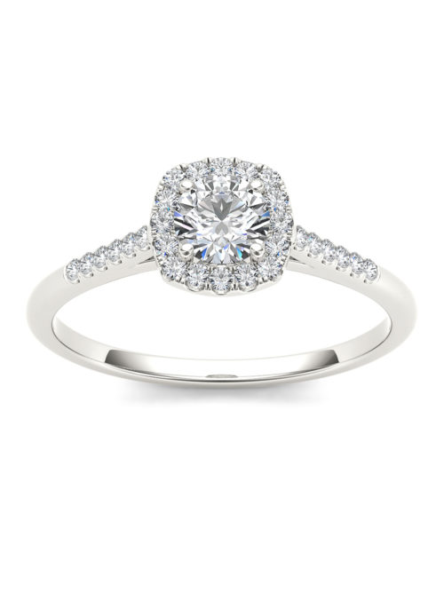 Imperial Diamond White Gold Engagement Band