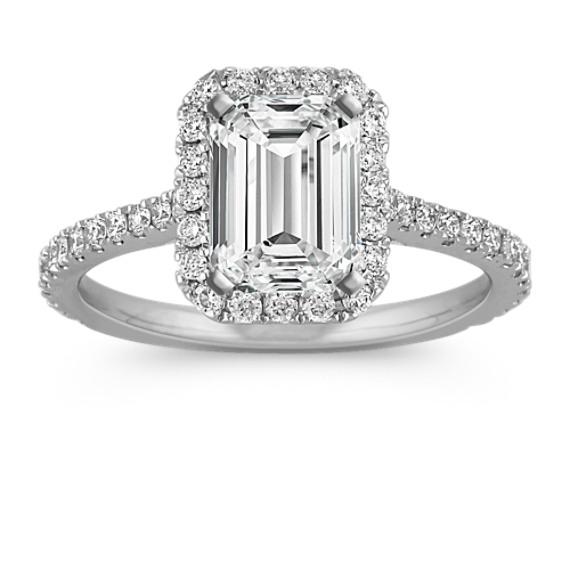 Diamond Engagement Band Setting