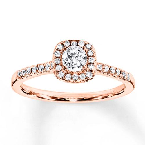 Diamond Engagement Band
