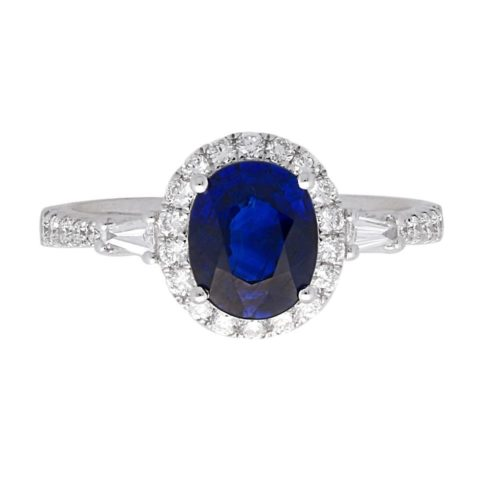 Shades of Love Sapphire and Diamond Band