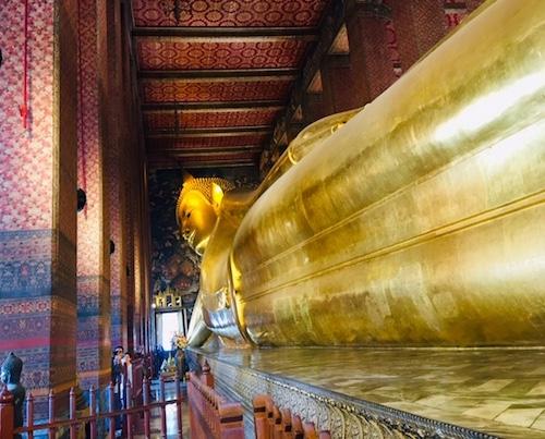 Reclining Buddha, Wat Phra Chetuphon