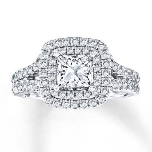 Vera Wang LOVE 2-1/4 Carat Diamond Ring