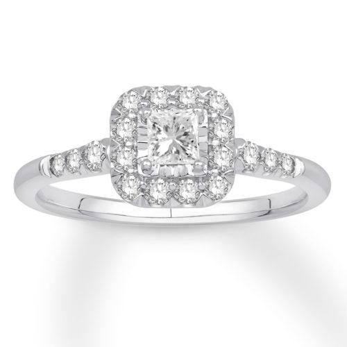 1/2 Carat Diamond Ring