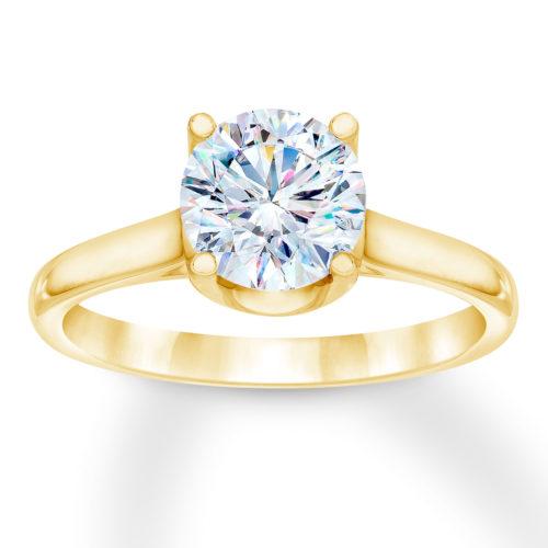 First Light Diamond Solitaire