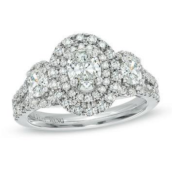Vera Wang LOVE 1-1/2 Carat Diamond Ring