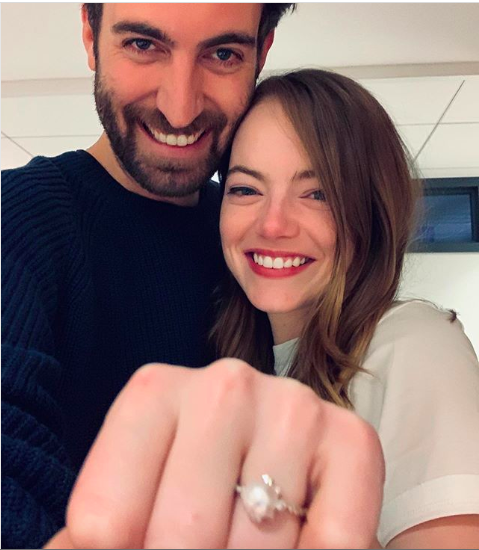 Emulate Emma Stone's Pearl Engagement Ring with These 6 Dazzling Styles