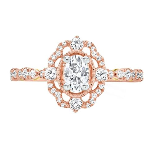 Truly Zac Posen Diamond Engagement Ring