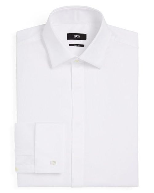 BOSS Marlyn Tuxedo Sharp Fit Regular Fit Dress Shirt