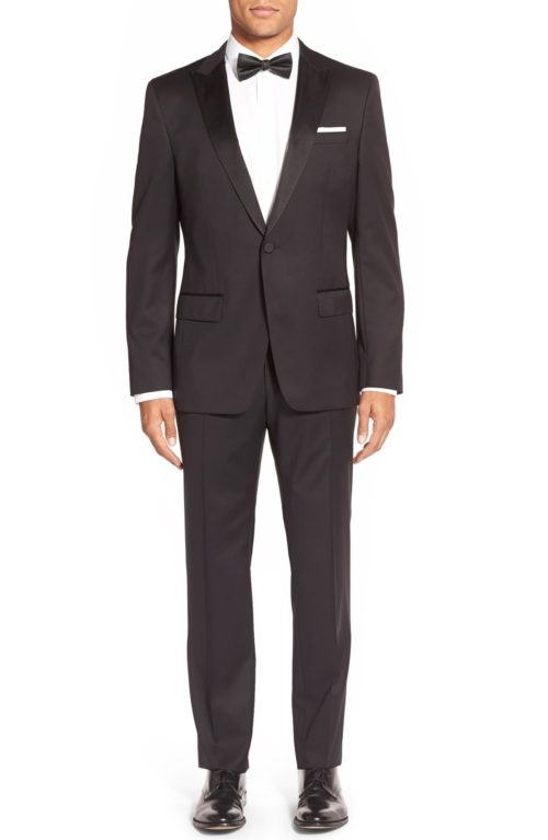 Hugo Boss Slim Fit Wool Tuxedo