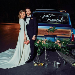 Everything to Know About Hilary Duff's Dramatic Wedding Dress and How to…