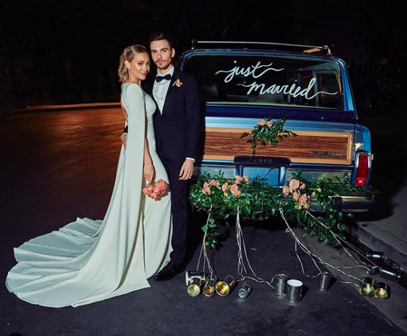 Everything to Know About Hilary Duff's Dramatic Wedding Dress and How to Copy Her Glam Style