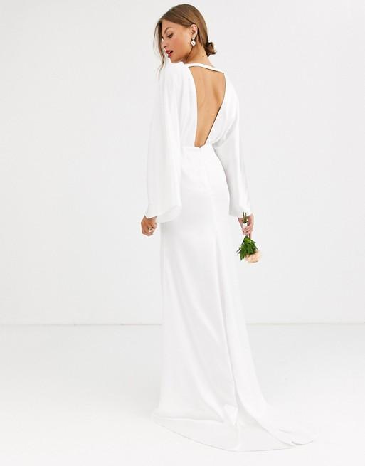 ASOS Kimono Sleeve Wedding Dress