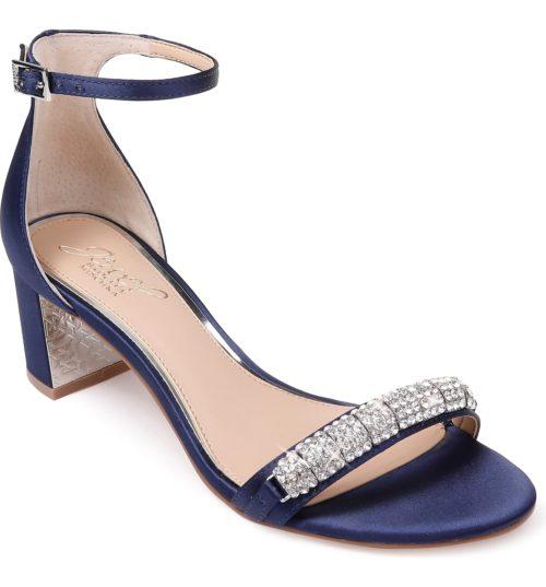 Jewel Badgley Mischka Strap Sandal