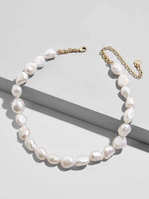 Lacey Pearl Statement Necklace