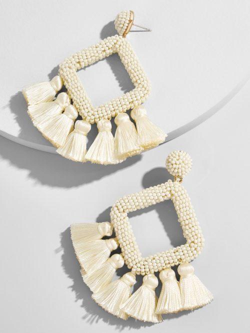 Laniyah Fringe Drop Earrings