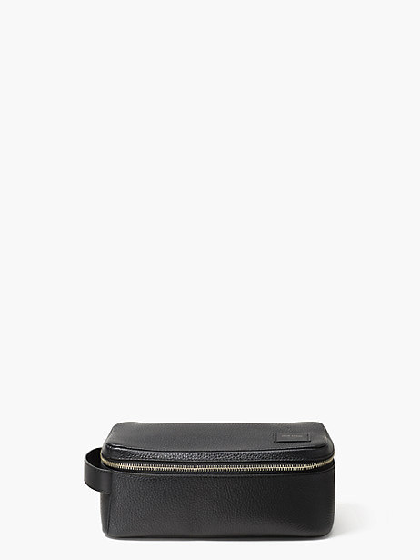 Pebbled Leather Dop Kit