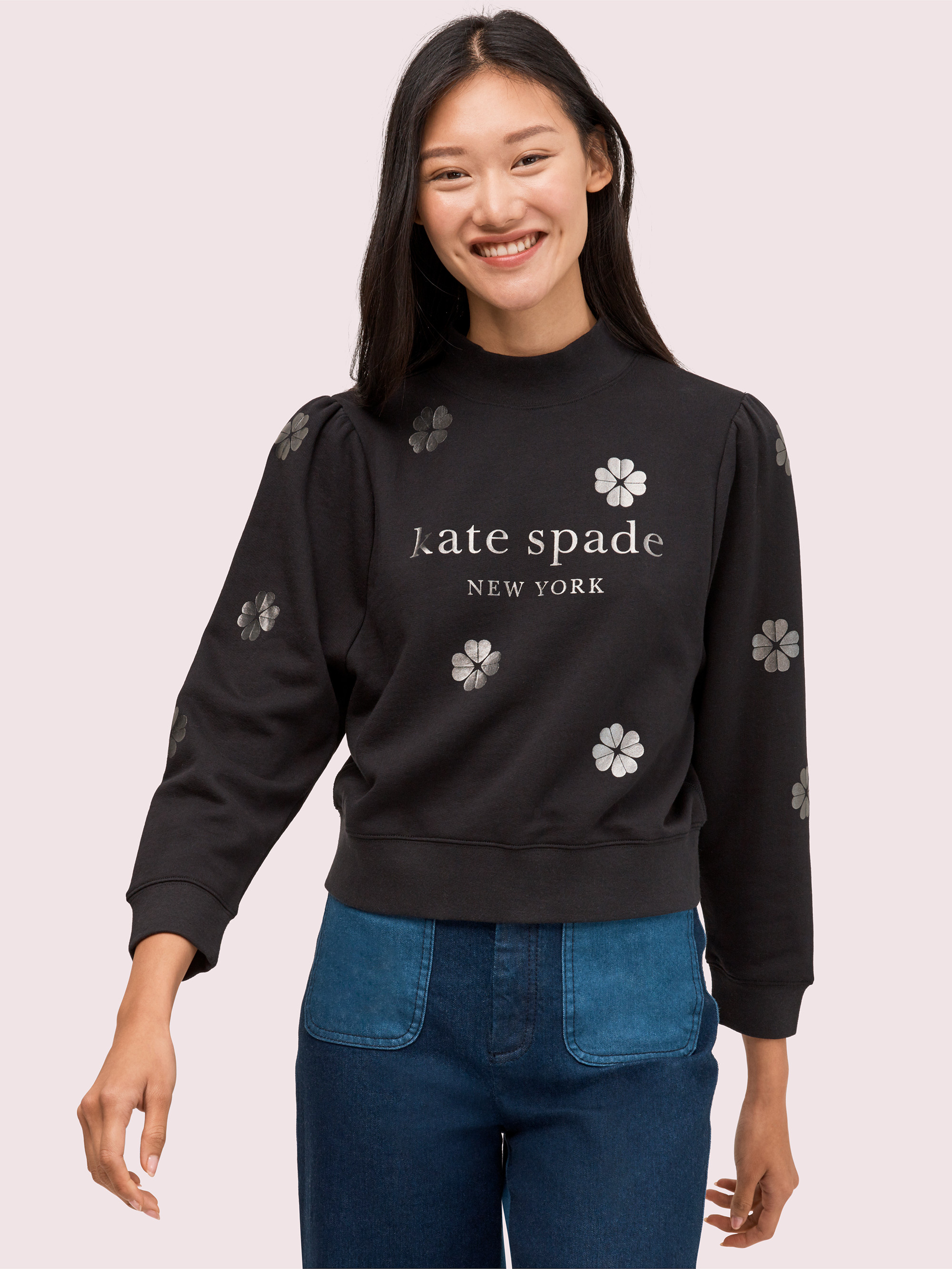Spade Clover Toss Pullover