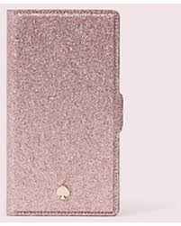 Burgess Court Glitter iPhone Folio Case