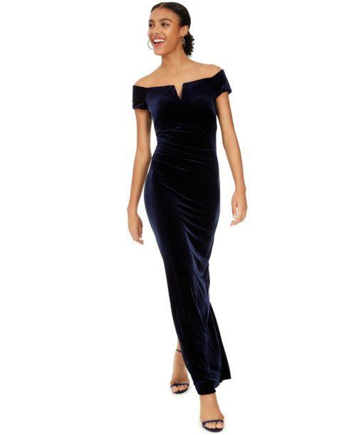 Xscape Velvet Gown
