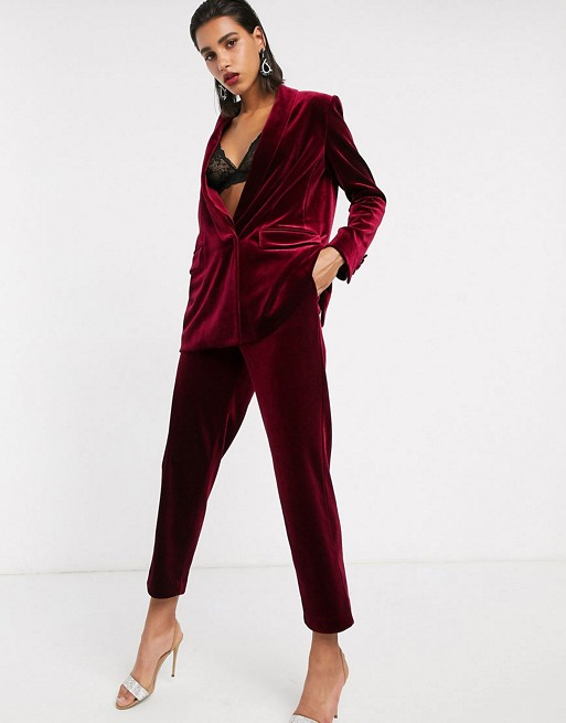 Tailored Velvet Suit