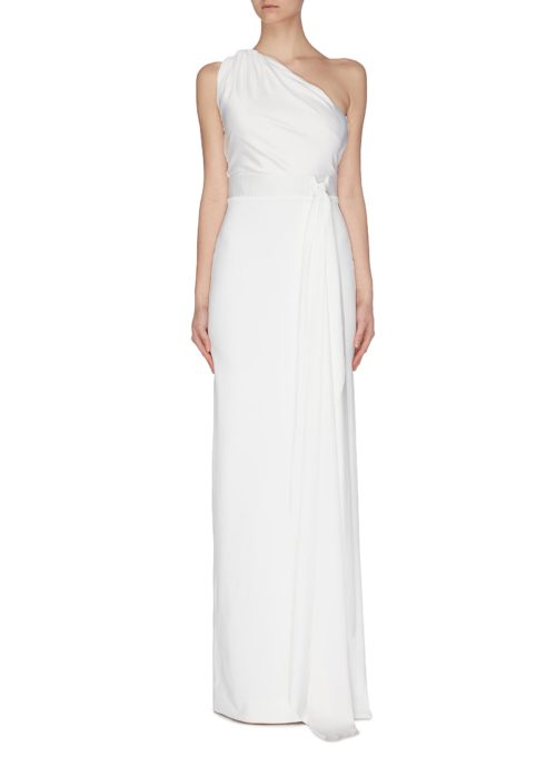 Solace London One-Shoulder Maxi Dress