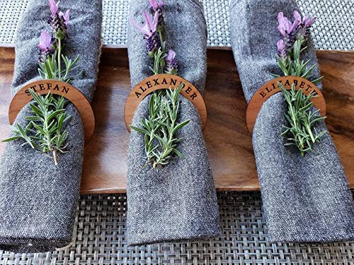Name Napkin Rings