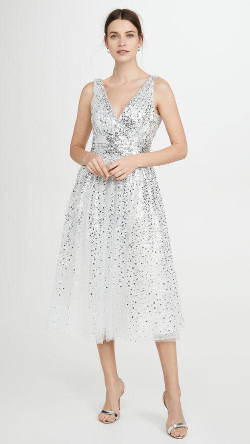 Marchesa Note Degrade Sequin Gown