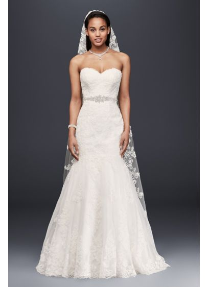 Sweetheart Trumpet Wedding Dress