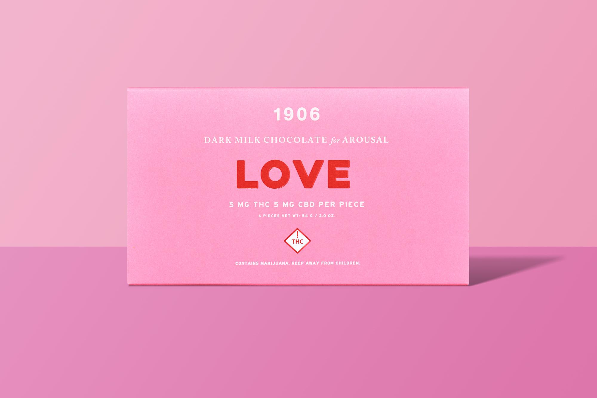 LOVE Gem Chocolates (CBD + THC)