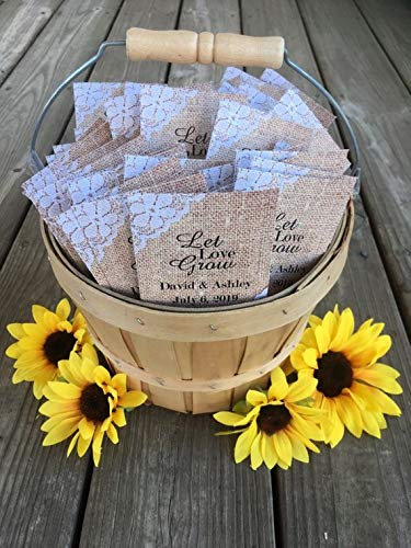 Personalized Seed Packets
