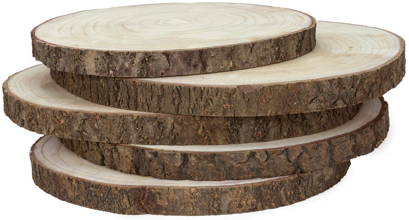 Large Wood Slices