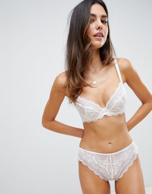 ASOS Design Ella Lace Bra and Panty