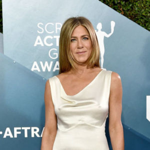 Jennifer Aniston's SAG Gown Gave Us Serious Bridal Vibes - See 10…