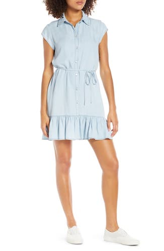 BB DAKOTA Sway Chambray Shirtdress
