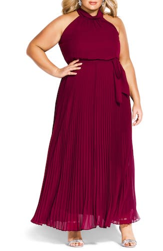 Best Plus-Size Red Dress