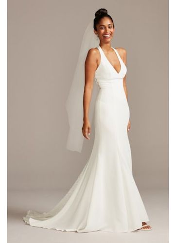 Best Mermaid Wedding Dress with Long Train