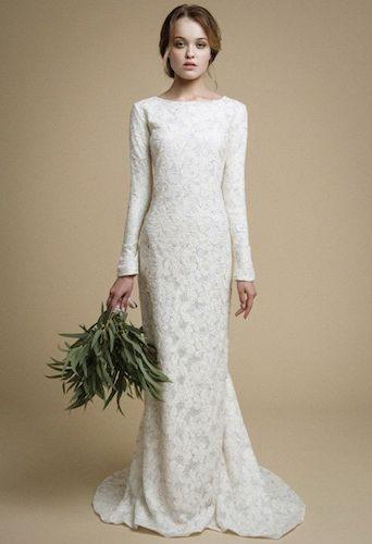 Best Long Sleeve Mermaid Wedding Dress