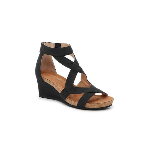Adrienne Vittadini Trilden Wedge Sandal
