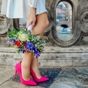 The 8 Best Statement Shoes for the Color-Obsessed Bride