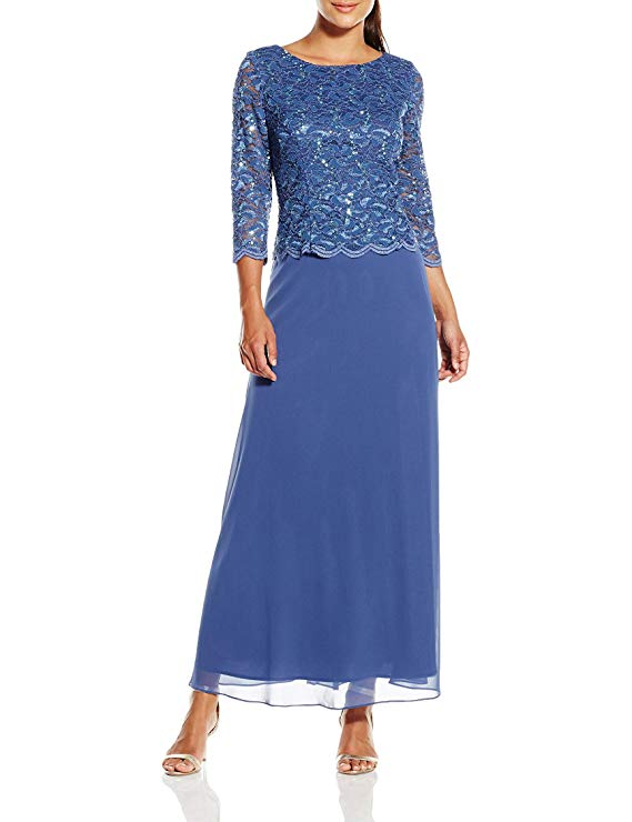 Alex Evenings Long Dress With Full Skirt
