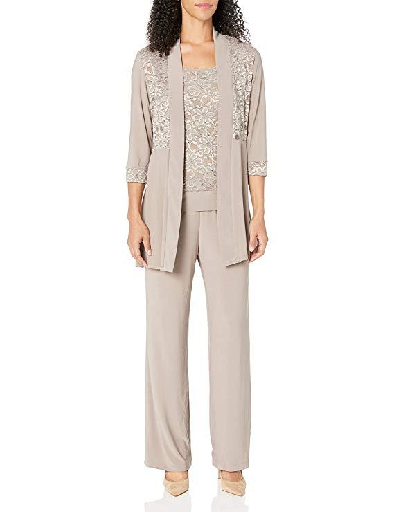 Richards Lace Pant Suit