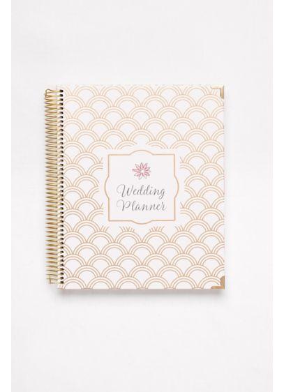 Gold Foil Wedding Planner