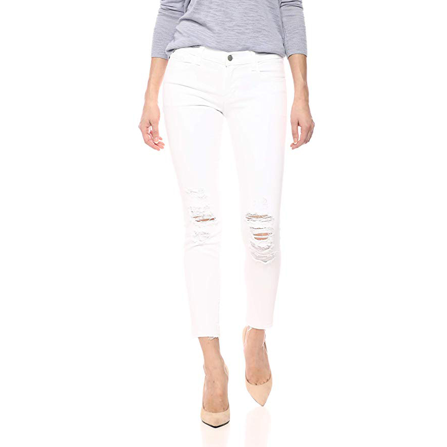 J Brand Jeans Low Rise Crop Skinny