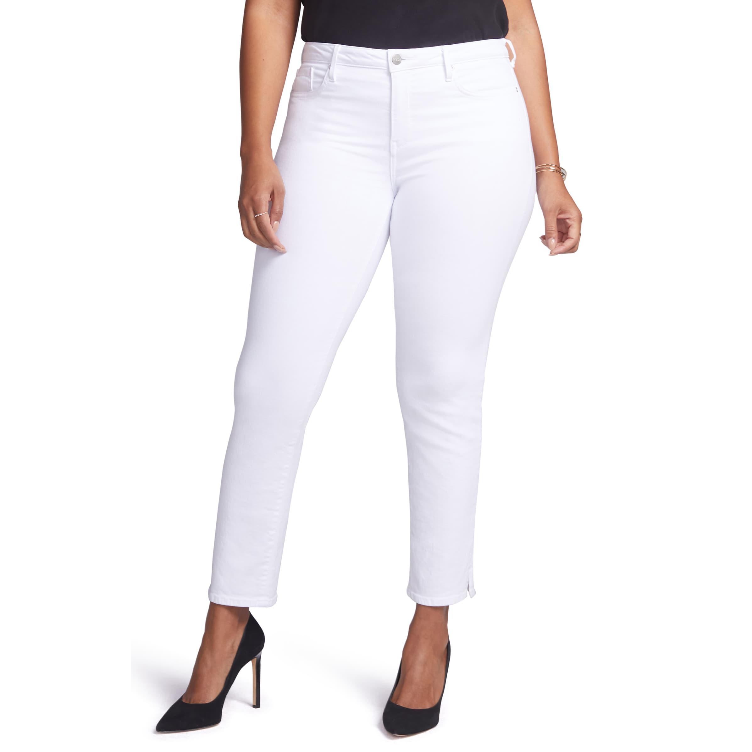 NYDJ Slim Straight Leg Ankle Jeans