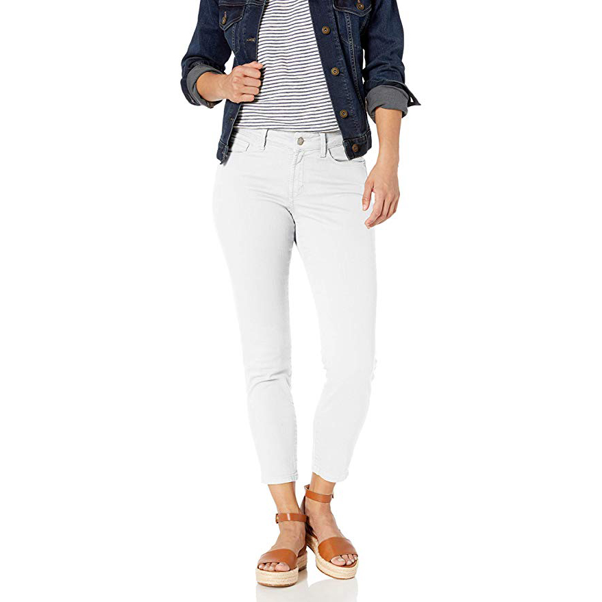 NYDJ Women's Petite Alina Skinny Convertible Ankle Jeans