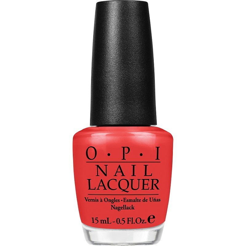 OPI Big Apple Red