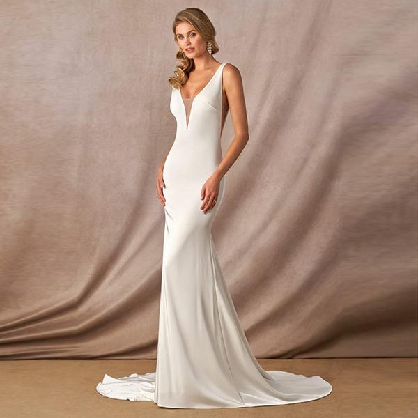 Azazie Destiny BG Wedding Dress